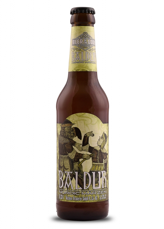 Baldur - Nordic Märzen, 0.33l bottle, Beer of the Gods