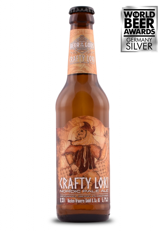 Crafty Loki - Nordic Pale Ale, 0.33l bottle - Beer of the Gods