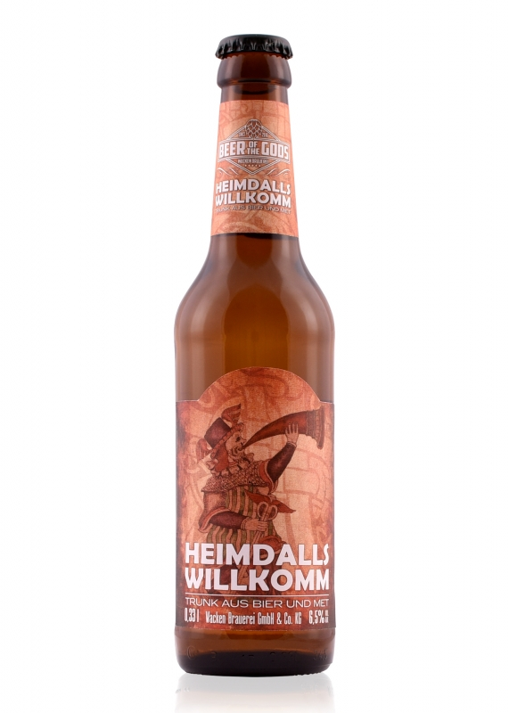Heimdalls Willkomm - Drink from Mead and Beer, 0.33l bottle - Beer of the Gods