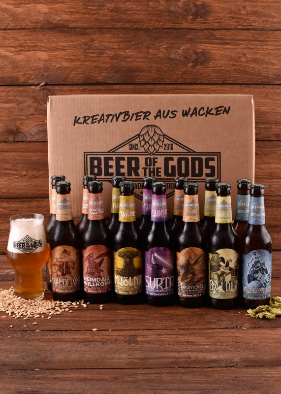 Göttergabe #1 - Gift of the Gods - 14 x Beer of the Gods
