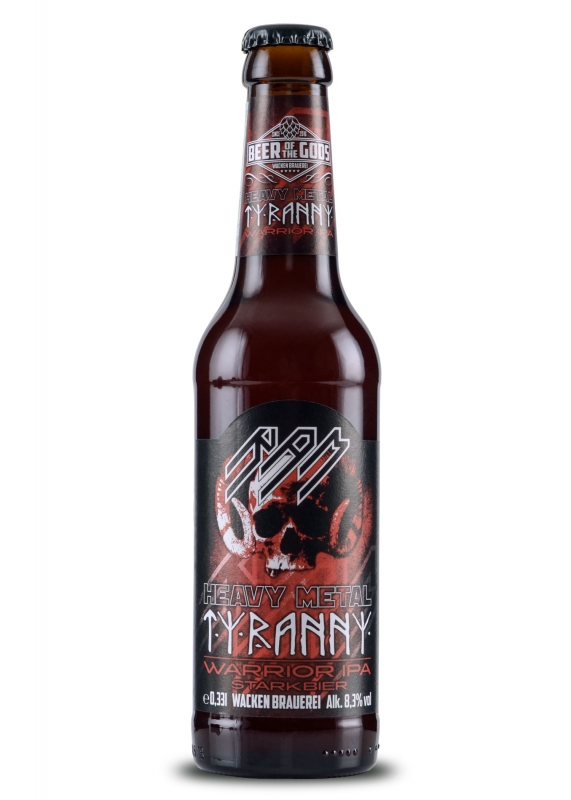 HEAVY METAL TYRANNY- RAM -  Warrior IPA,  0.33l bottle, Beer of the Gods