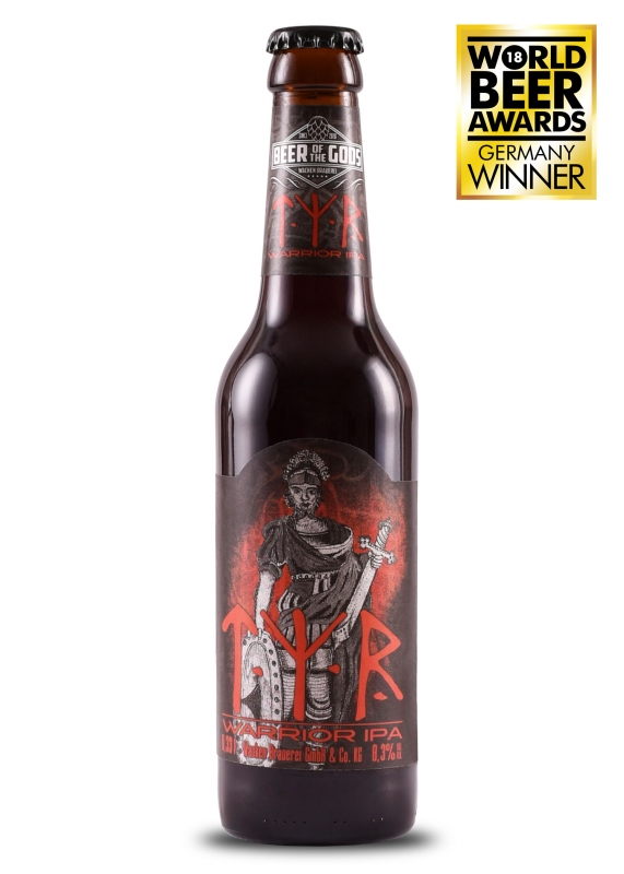 Tyr - Warrior IPA, 0.33l bottle, Beer of the Gods