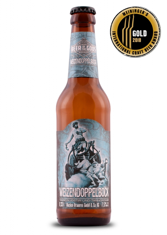 Weizendoppelbock 0.33l bottle - Beer of the Gods