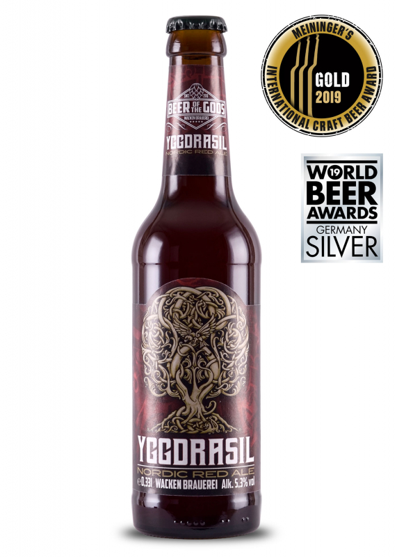 Yggdrasil - Nordic Red Ale, 0.33l bottle, Wacken Brewery