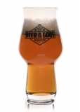 Beer of the Gods - Bierglas Craftmaster One, Probierglas 100 ml Eichstrich - Wacken Brauerei
